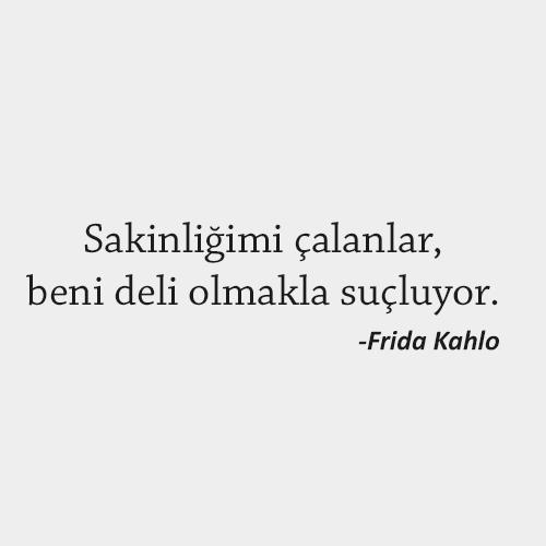 Frida Kahlo Anlamlı Sözler