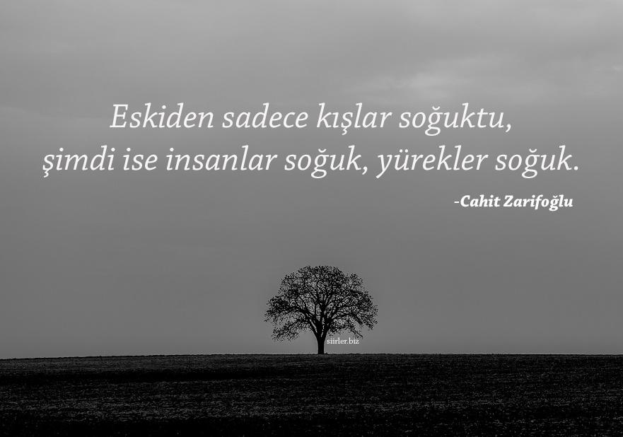 Soğuk Sözleri - Cahit Zarifoğlu