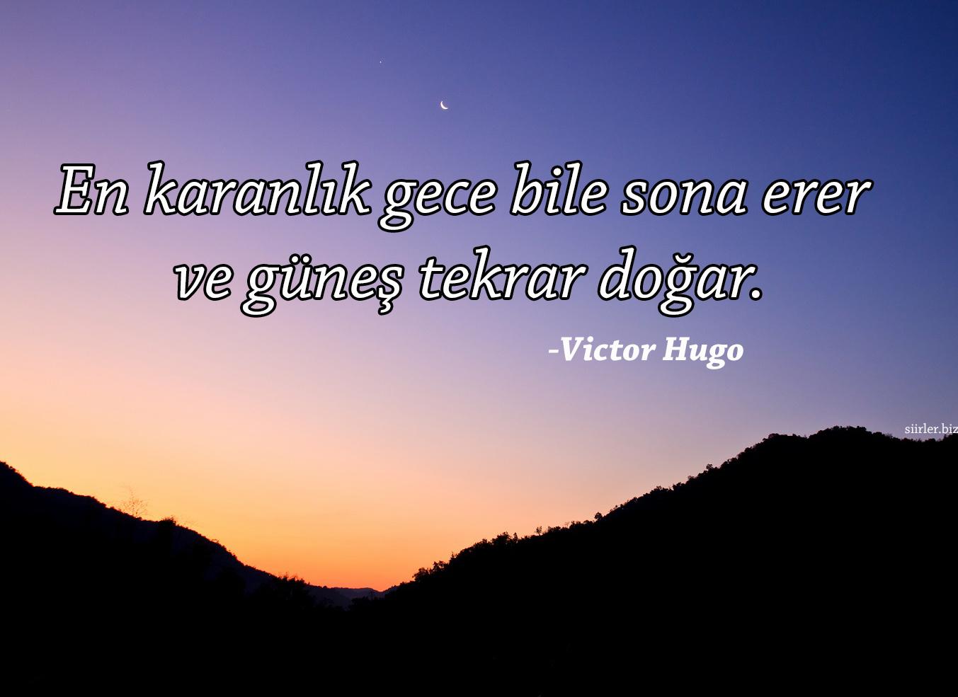 Victor Hugo Gece Sözleri