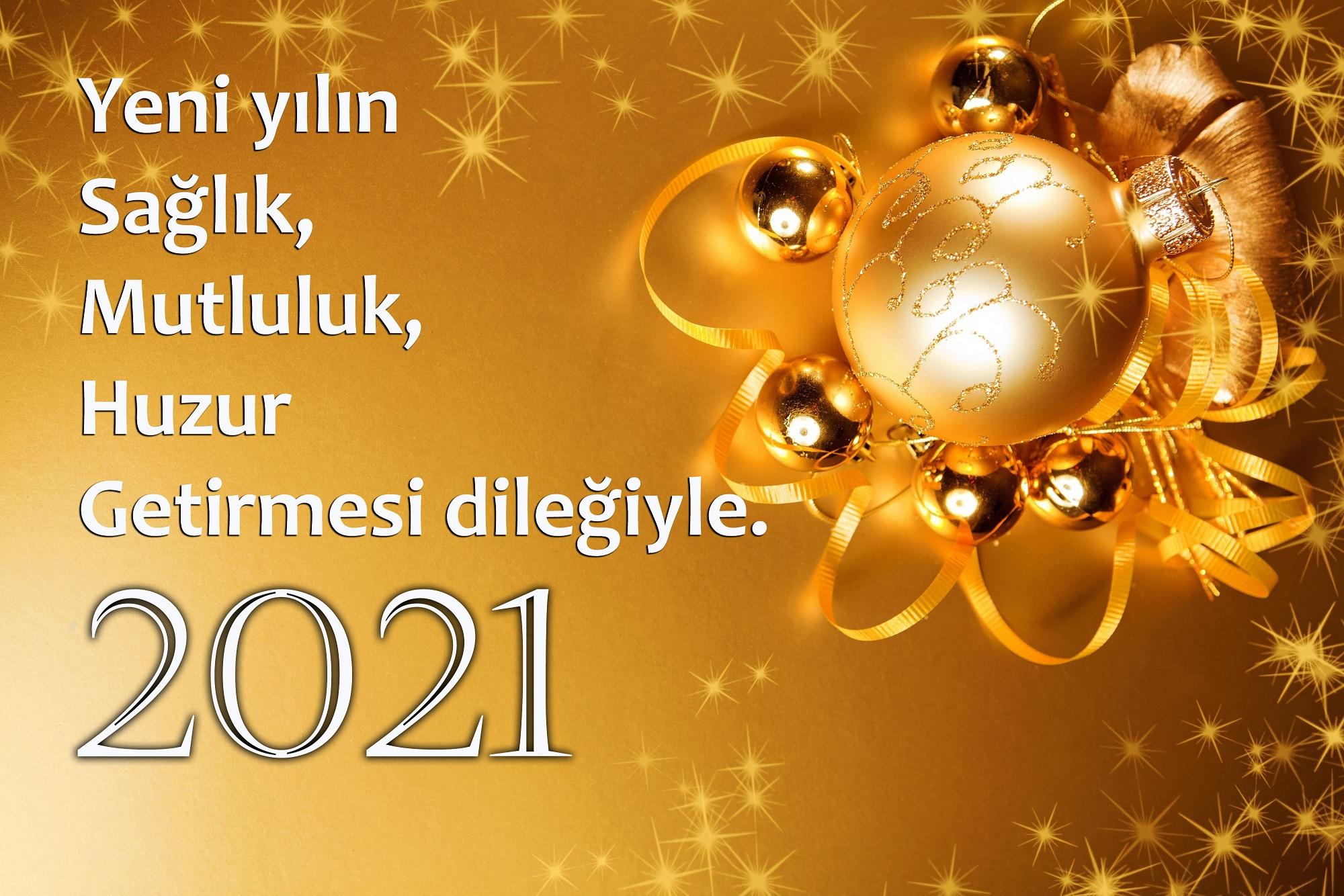 2021 yeni yıl mesajları, 2021 yılbaşı mesajları
