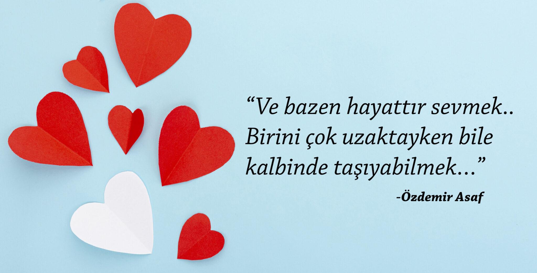 Özdemir Asaf - Hayattır Sevmek