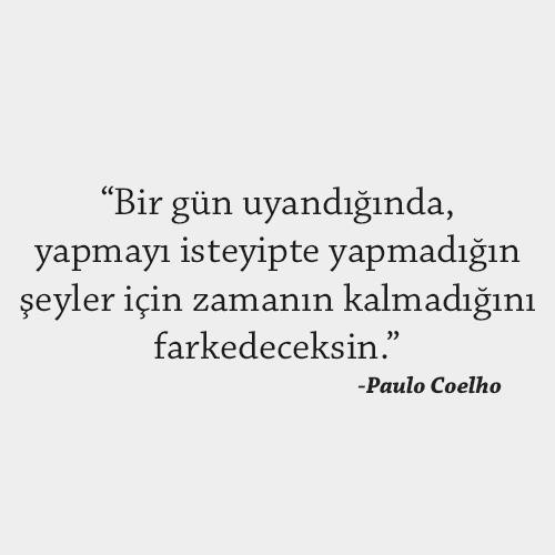 Paulo Coelho Bir gün uyandığında