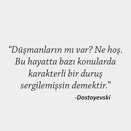 Dostoyevski sözü