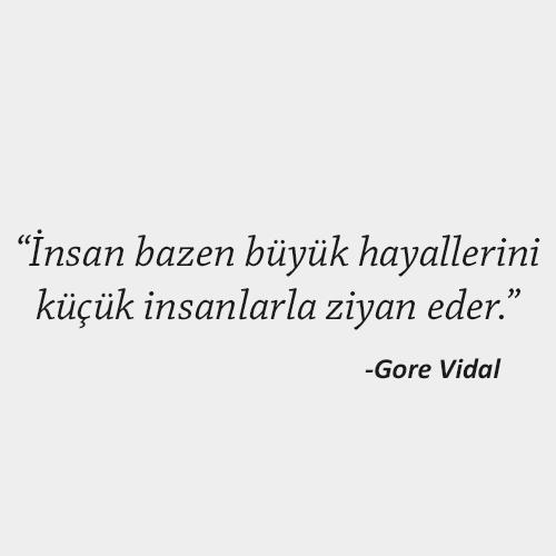 Gore Vidal Sözleri anlamlı