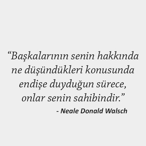 Neale Donald Walsch Sözleri