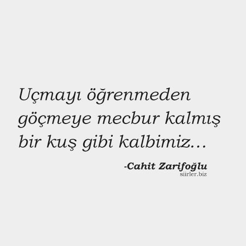 Cahit Zarifoğlu - Anlamlı Söz