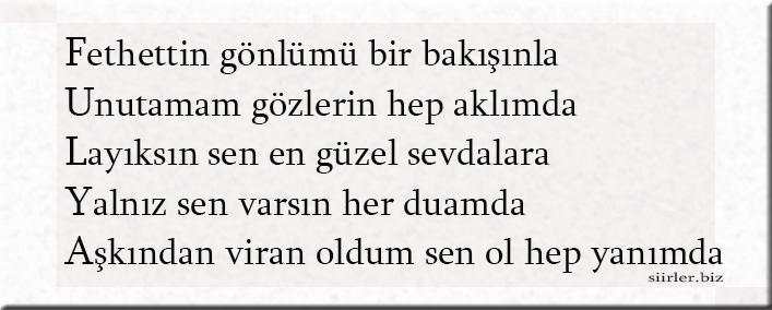 Fulya Akrostiş Şiir, Fulya ismine özel akrostiş şiir