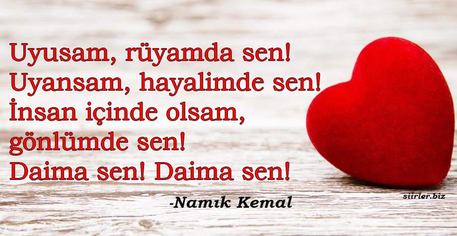 Namık Kemal - Daima Sen