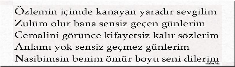 Özcan akrostiş, Özcan ismine özel akrostiş şiir