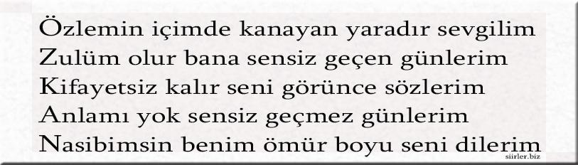 Özkan akrostiş, Özkan ismine özel akrostiş şiir