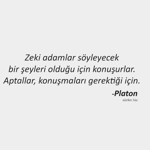 Platon Felsefi Sözü