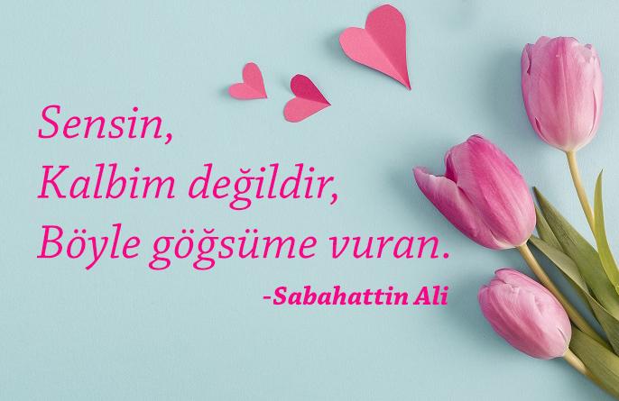 Sabahattin Ali- Aşk Sözleri Güzel