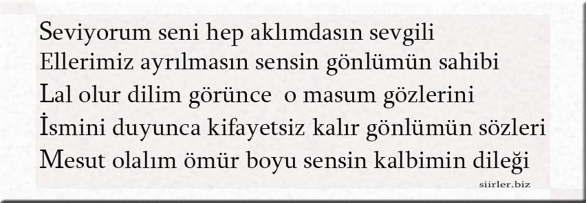 Selim ismine özel akrostiş şiir, Selim İsmine Şiir
