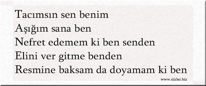 Taner akrostiş, Taner ismine özel akrostiş şiir