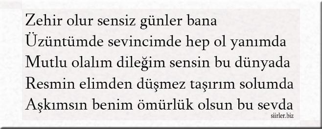 Zümra akrostiş, Zümra ismine özel akrostiş şiir