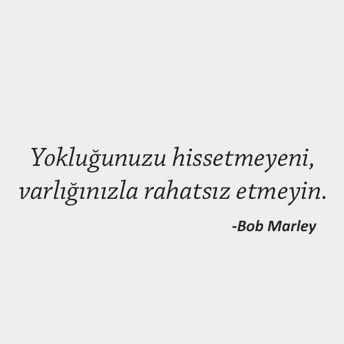 Bob Marley Kapak Sözler