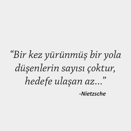 Nietzsche felsefi sözleri
